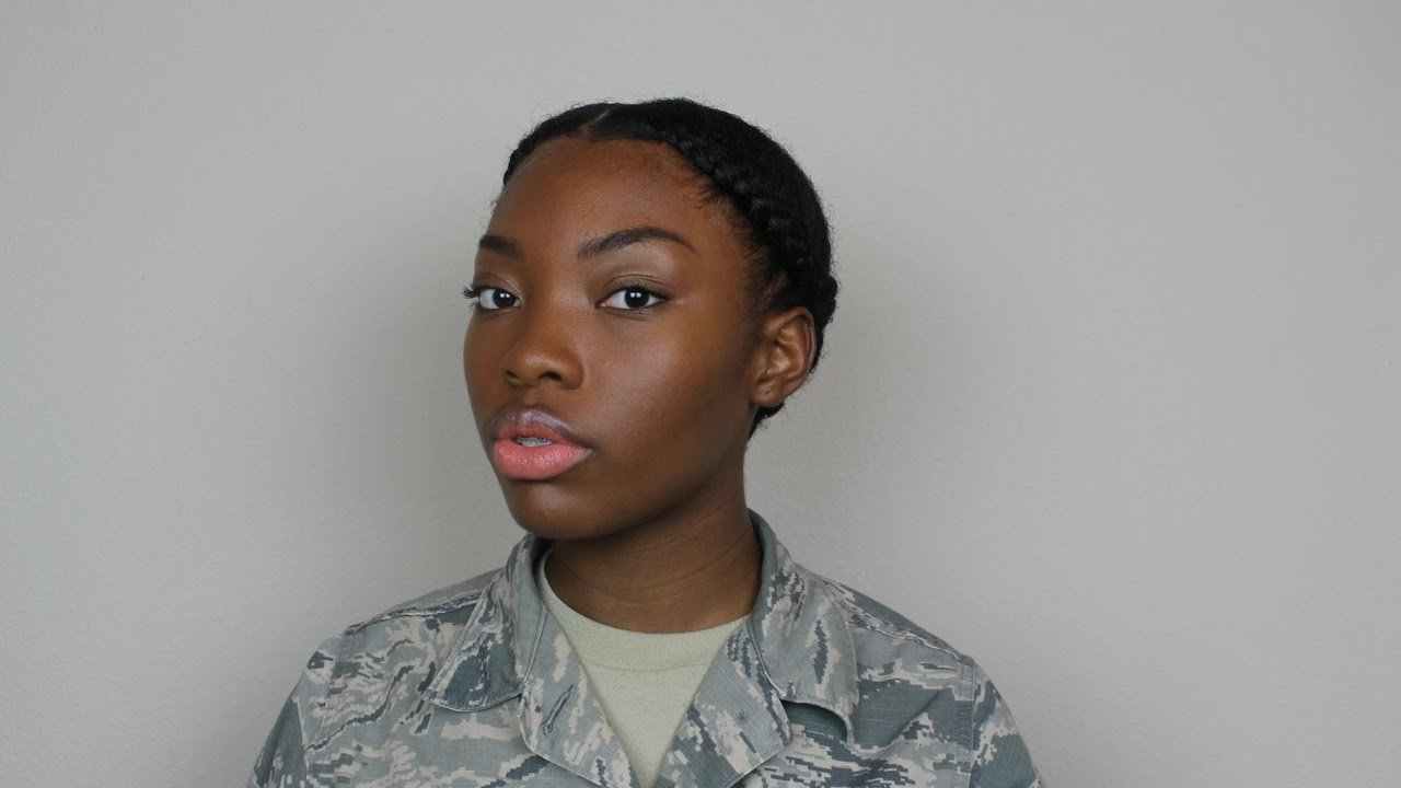 The Best Natural Hair Military Or Professional Hairstyles For Women Pictures