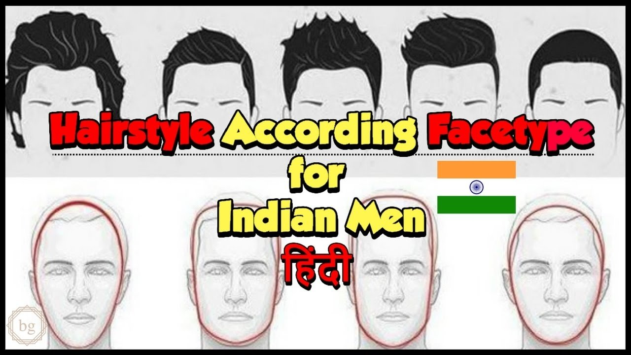 The Best Hairstyle According To Face Shape For Men In Hindi Youtube Pictures