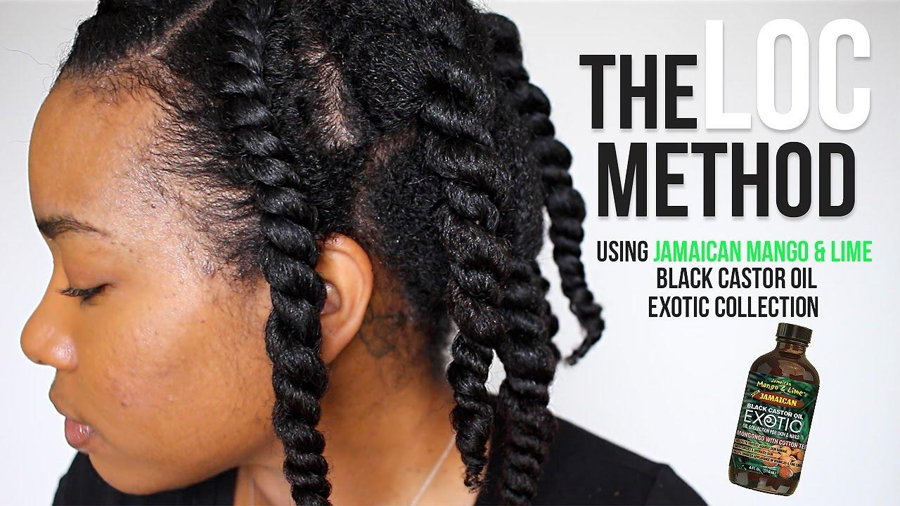 The Best The Loc Method Healthy Natural Hair Journey Youtube Pictures