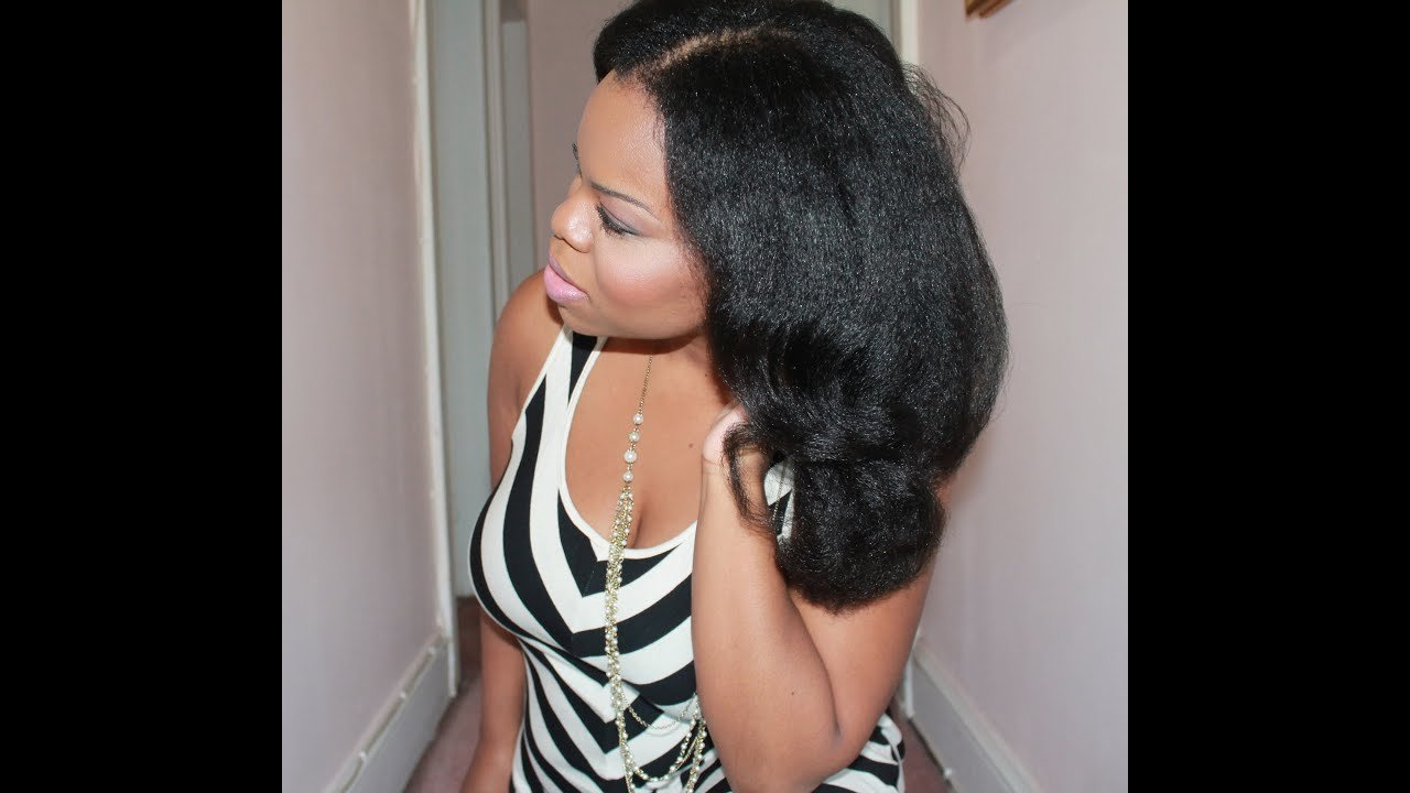 The Best Natural Hair Bl*W Out Flexi Rods Big Hair With Pictures