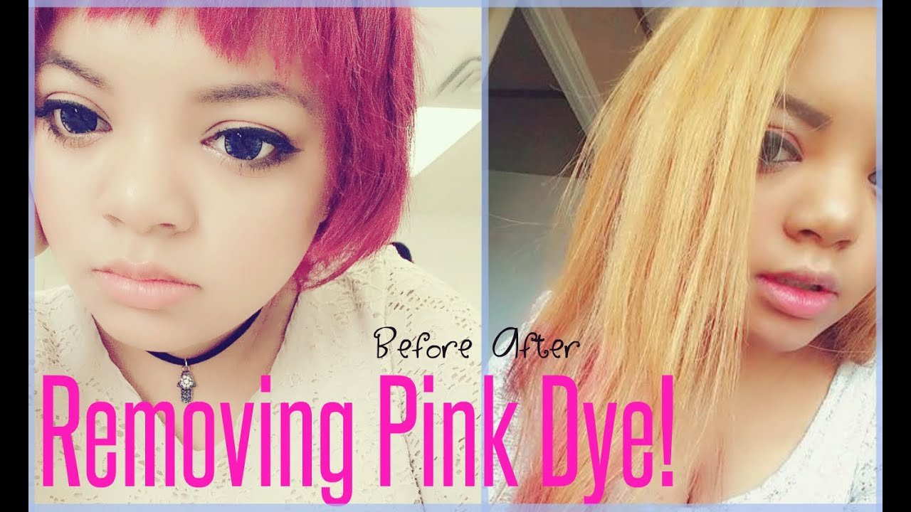 The Best Remove Hair Color Removing Pink Hair Dye Without Bleach Pictures