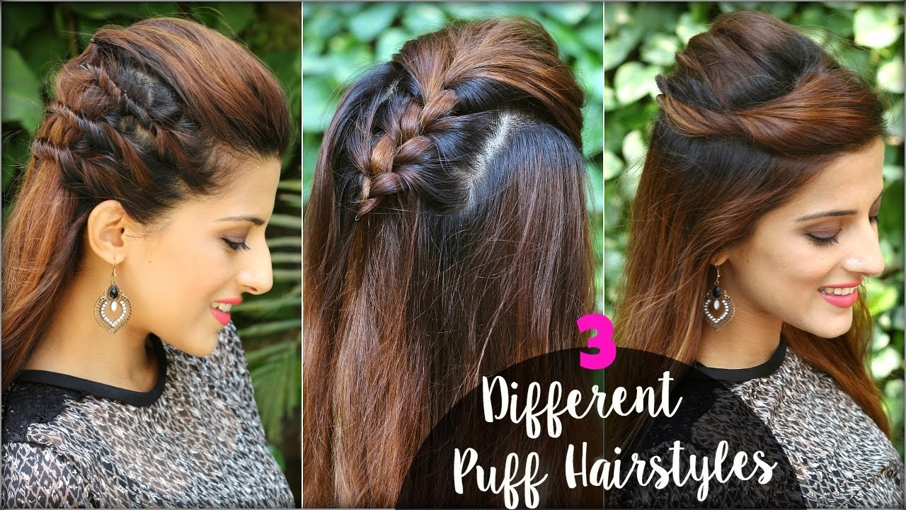 The Best 2 Min Different Hairstyles With Puff For College Work Pictures