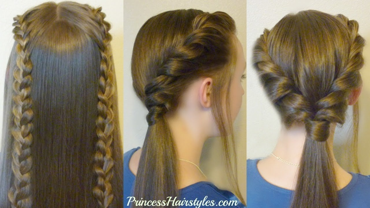 The Best 3 Easy Back To School Hairstyles Part 2 Youtube Pictures
