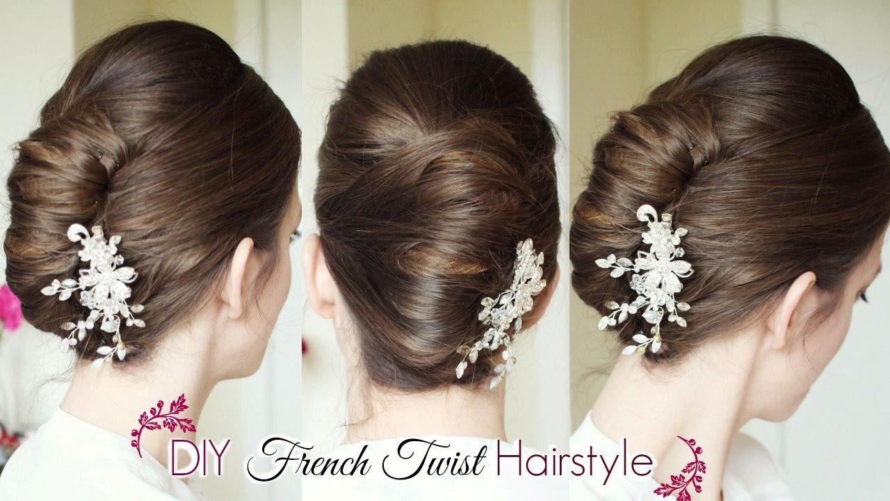 The Best Diy French Twist Updo Holiday Updo Hairstyles Pictures