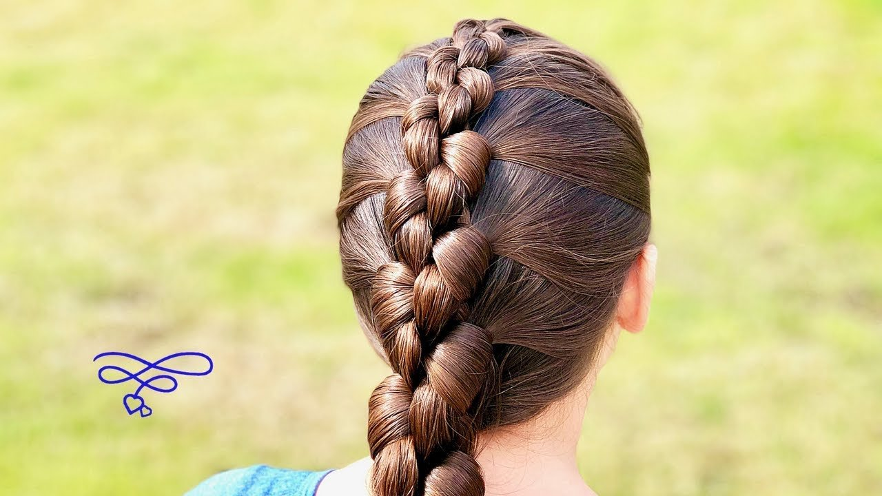 The Best ♉︎ French Knot Braid Hairstyle ♉︎ Youtube Pictures