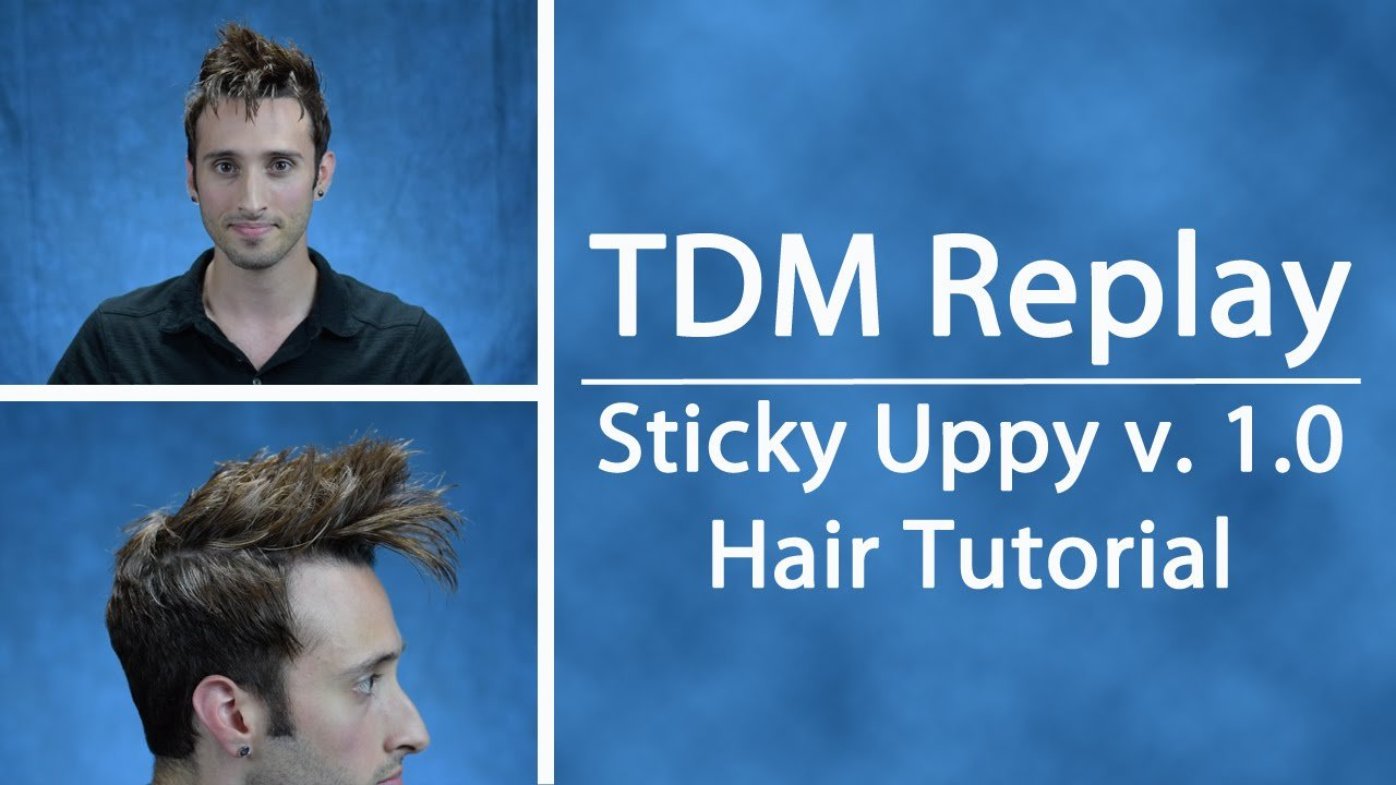 The Best Tdm Replay Sticky Uppy V 1 Tennant Hair Tutorial Pictures