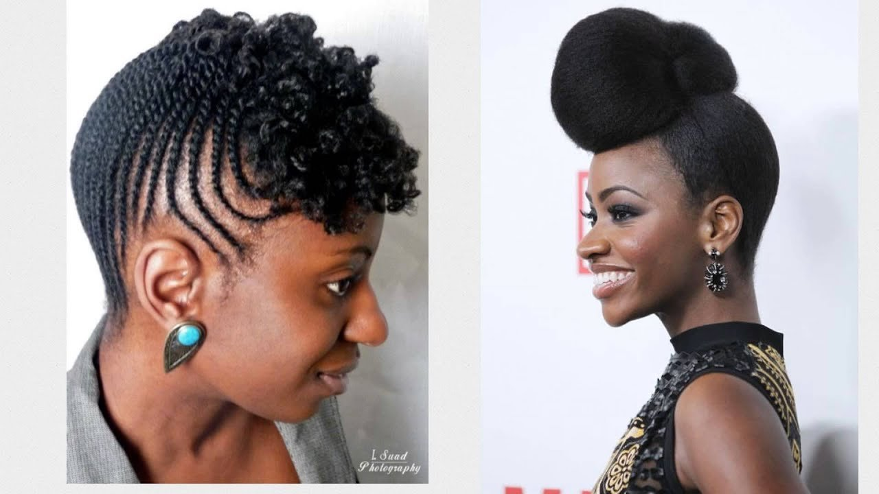The Best 20 Easy And Awesome Updos For Black Women Youtube Pictures