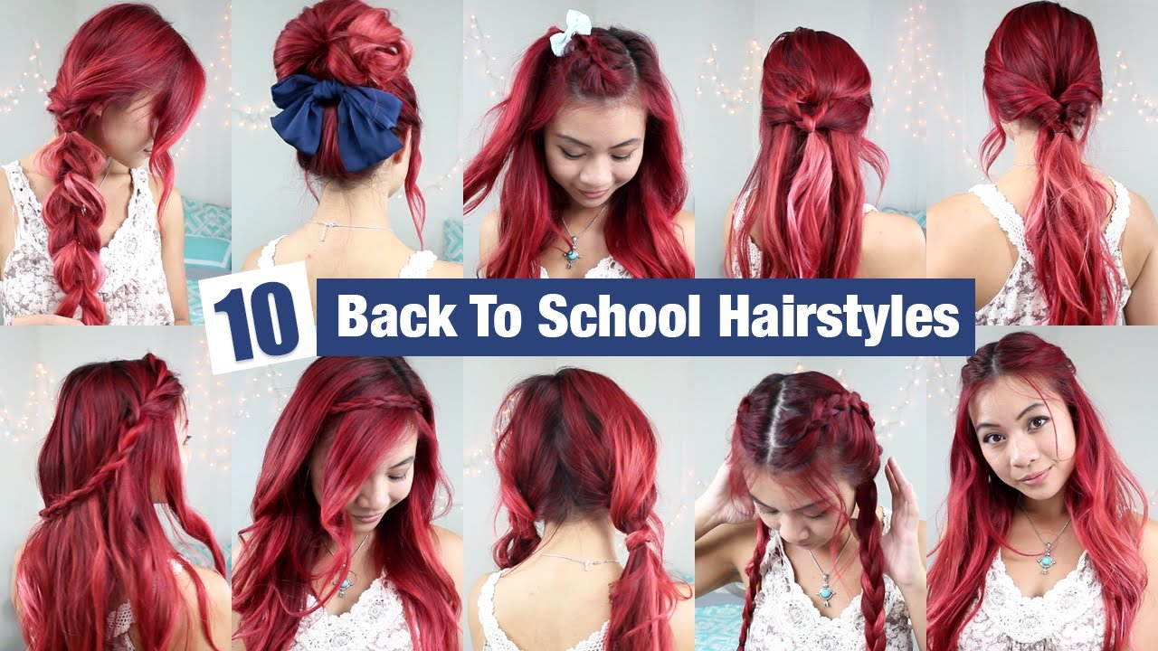 The Best 10 Back To School Hairstyles L Quick Easy Hairstyles For Pictures