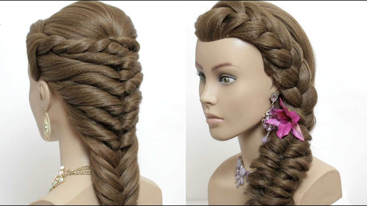 The Best 2 Easy Hairstyles For Long Hair Tutorial Cute Summer Pictures