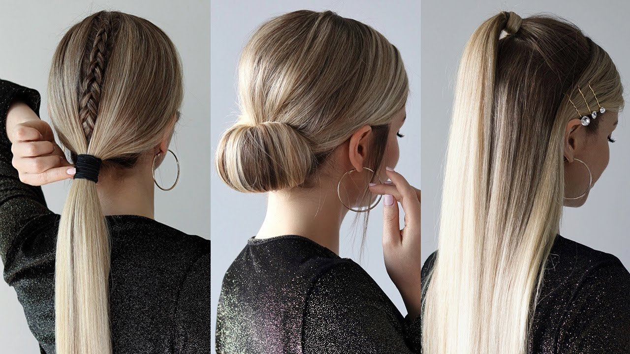 The Best Easy Holiday Hairstyles 2019 Youtube Pictures