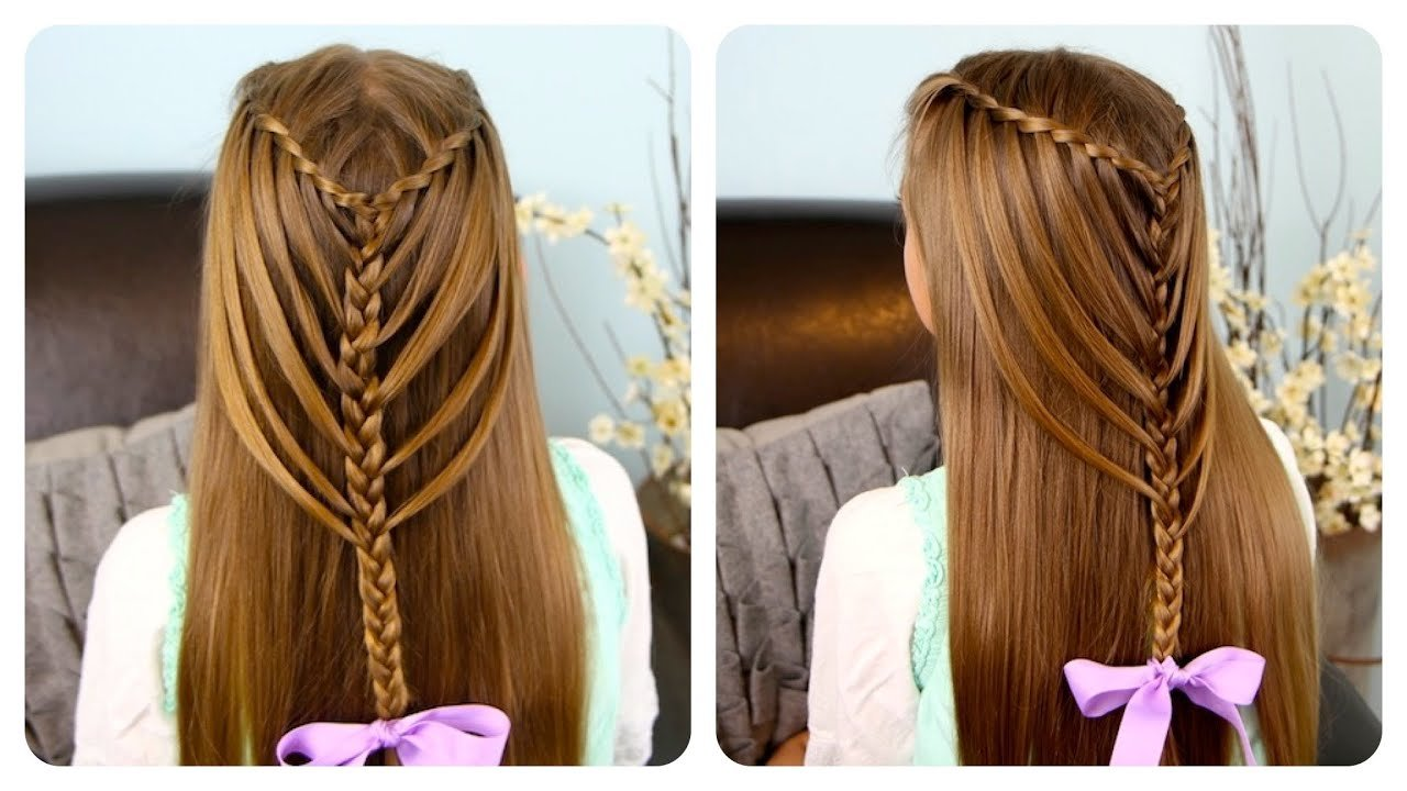 The Best Waterfall Twists Into Mermaid Braid Cute Girls Pictures