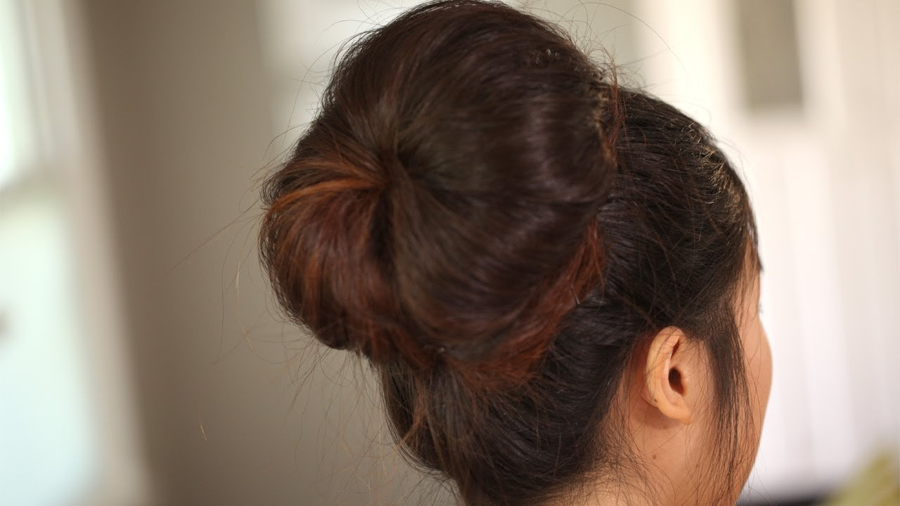 The Best How To Create The Modern Big Bun Kin Beauty Youtube Pictures
