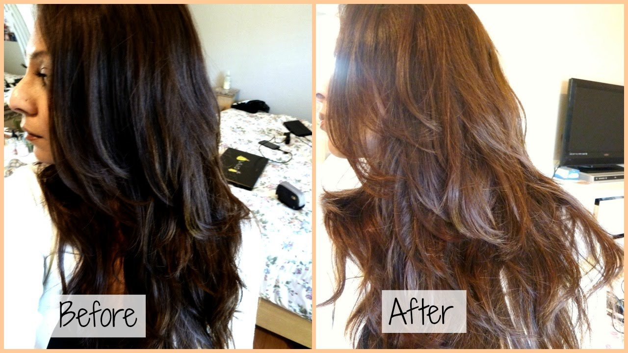 The Best How I Dye My Hair From Black To Chocolate Ash Brown At Pictures