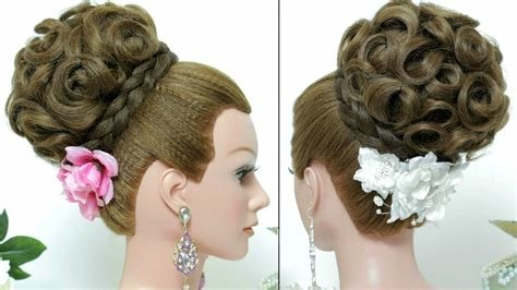 The Best Bridal Hairstyle Updo For Long Hair Tutorial Youtube Pictures