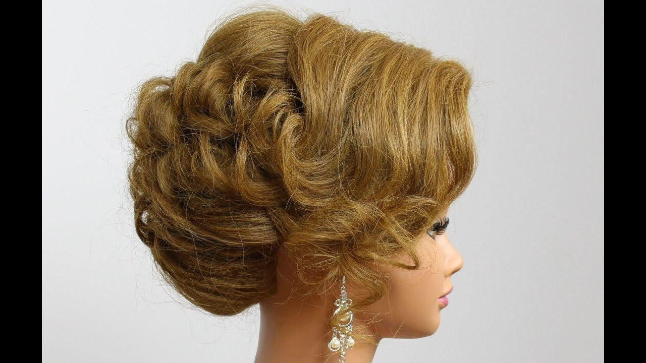 The Best Wedding Hairstyle For Medium Hair Prom Bridal Updo Pictures