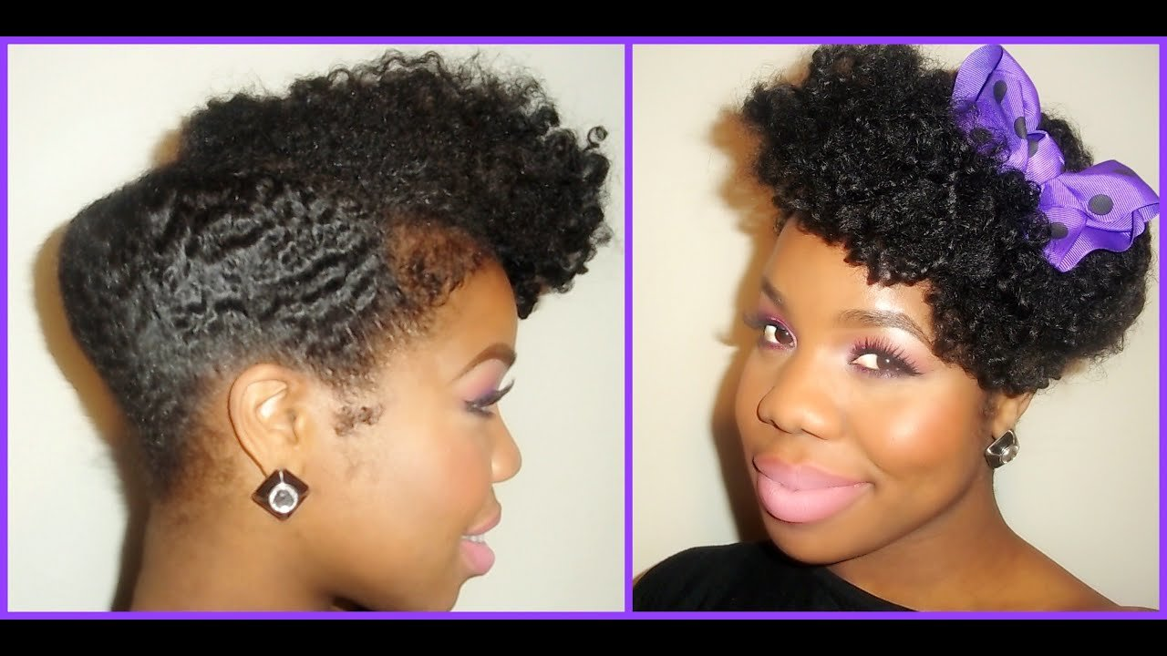 The Best Natural Hair Chic S*Xy Elegant Updo Youtube Pictures