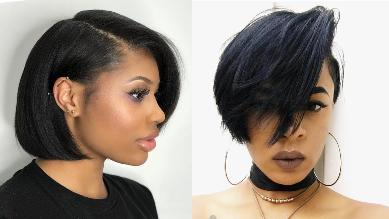 The Best 2019 Bob Hairstyles For Black Women Black Women S Hair Pictures