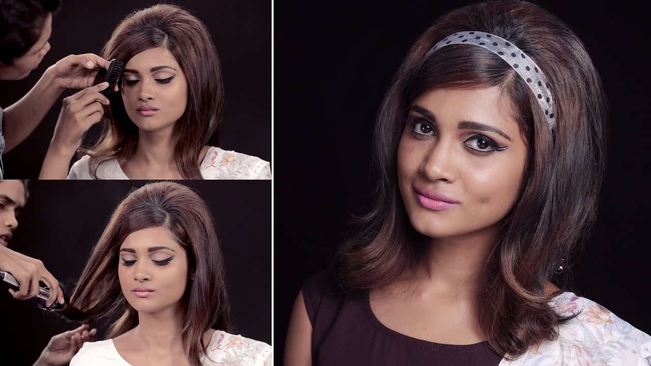 The Best How To Get The '60S Hairstyle Look Quick And Easy Youtube Pictures