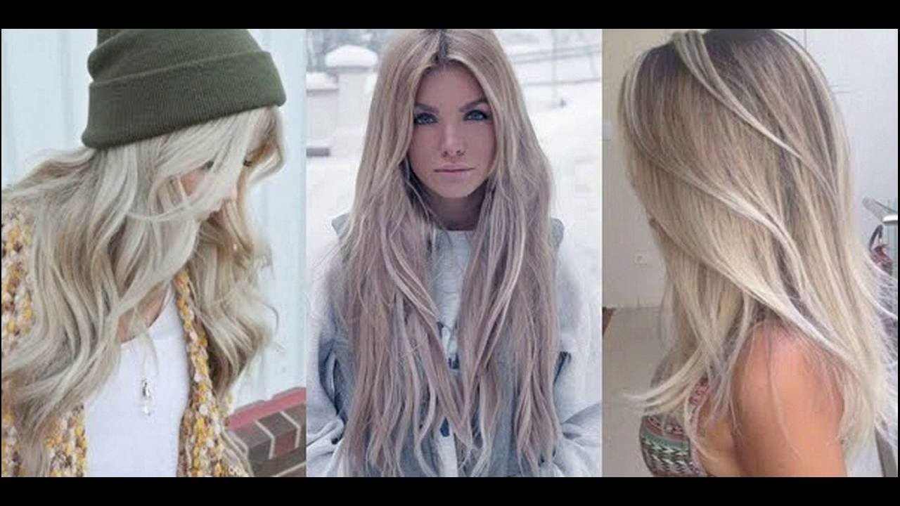 The Best Light Ash Blonde Hair Color Ideas Youtube Pictures