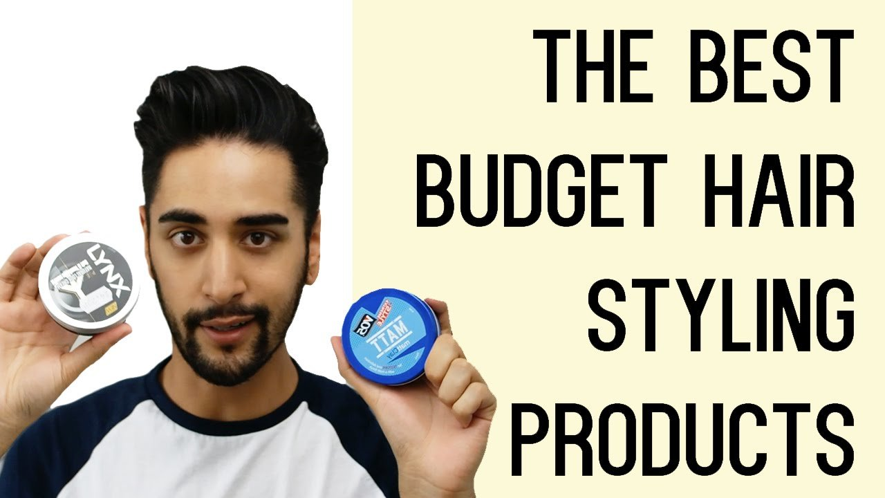 The Best Budget Hair Styling Products For Men Tried And Pictures