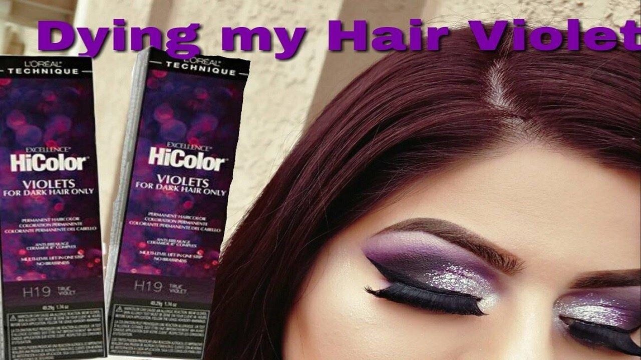 The Best Diy Hair Coloring At Home Using The New Loreal Hicolor Pictures