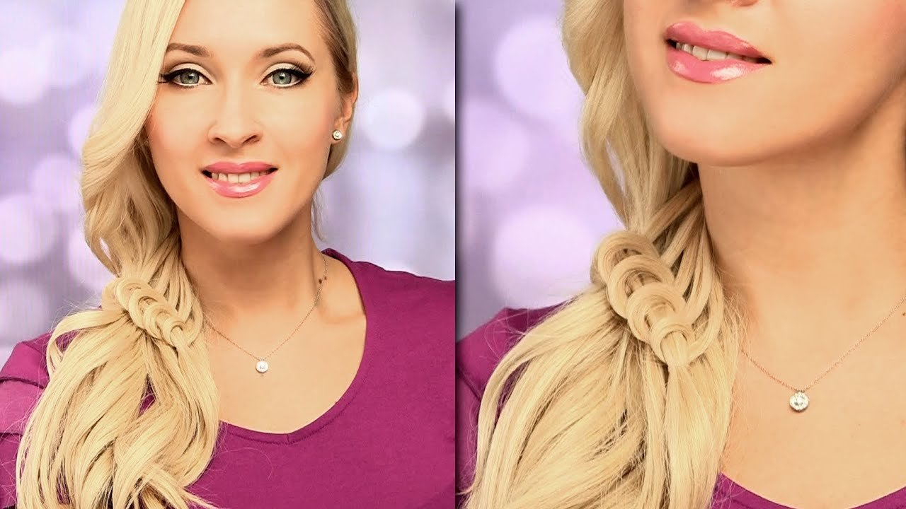 The Best Braided Hairstyle For Everyday Cute And Easy Side Swept Pictures