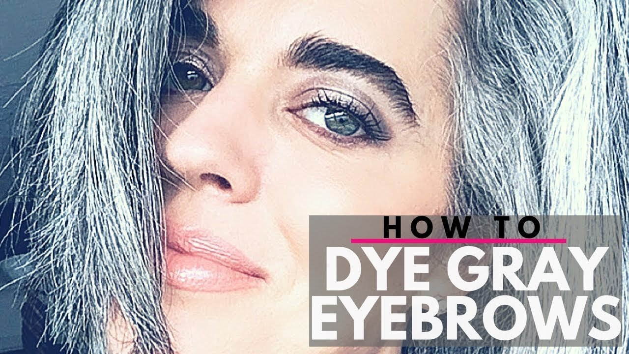 The Best Brow Makeup For Gray Hair Makeup Vidalondon Pictures