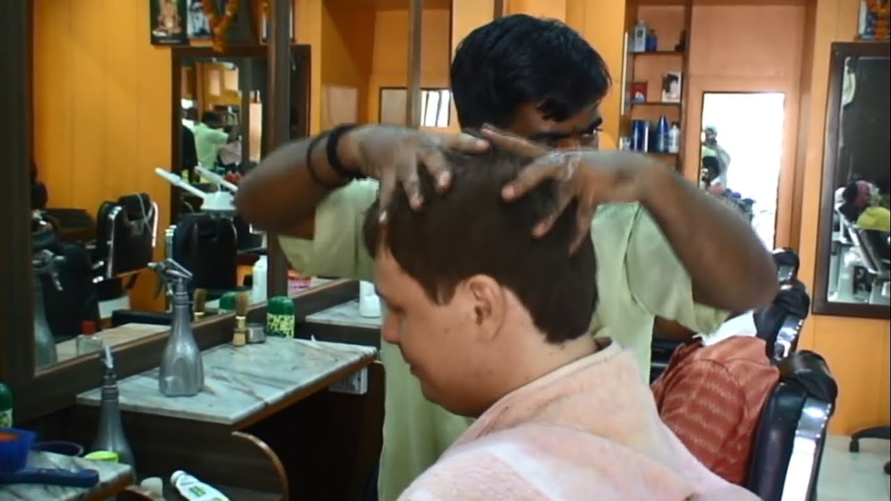 The Best Massage At Indian Barbershop After Haircut 1 Youtube Pictures