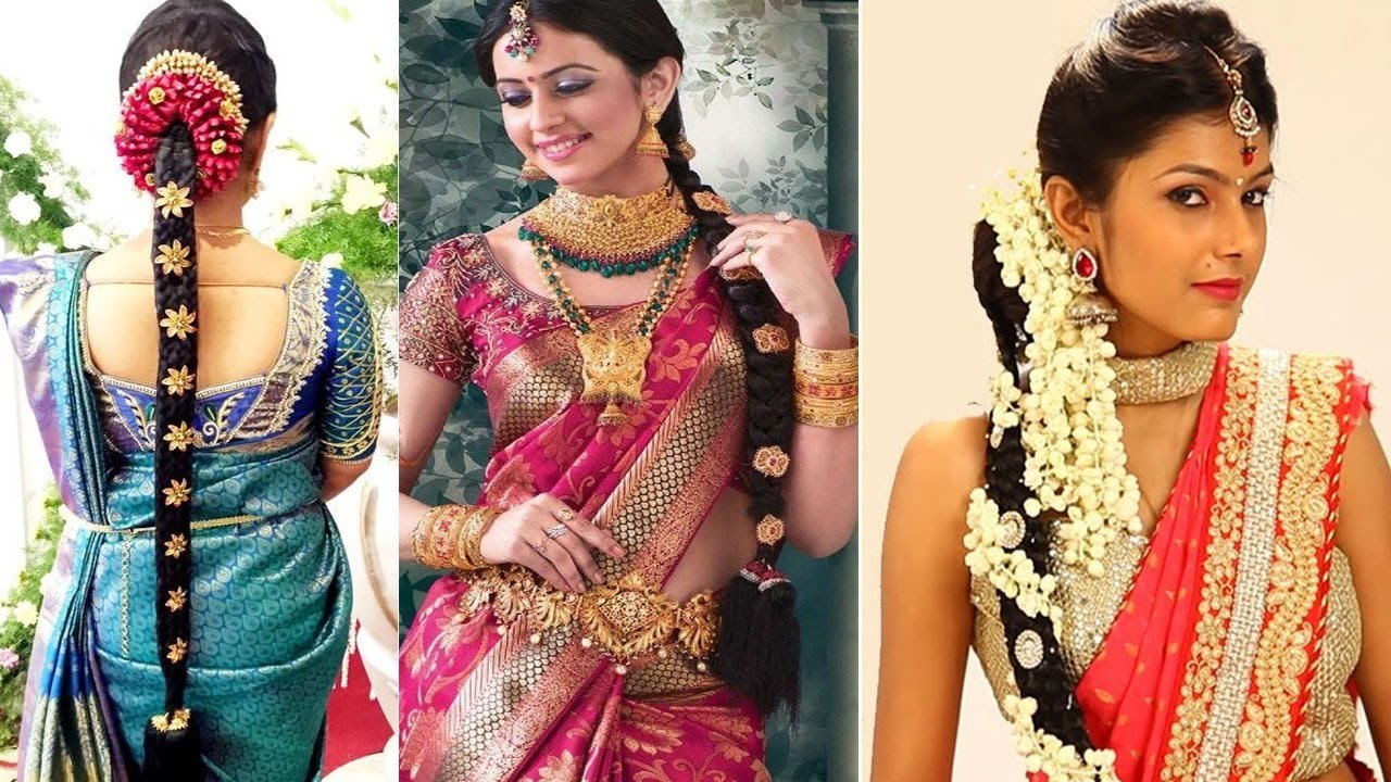 The Best South Indian Bridal Hairstyles Step By Step Bridal Pictures