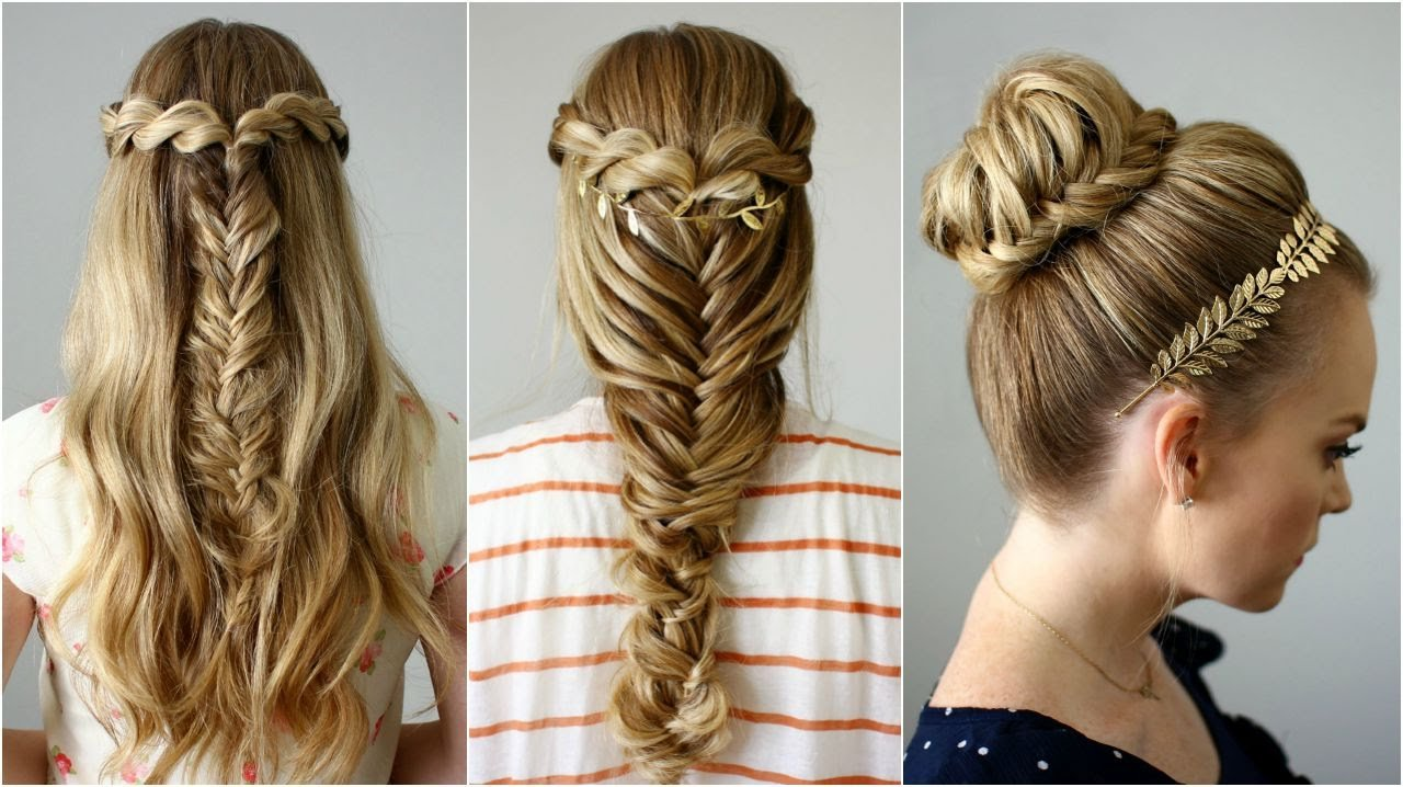 The Best 3 Back To School Hairstyles Missy Sue Youtube Pictures