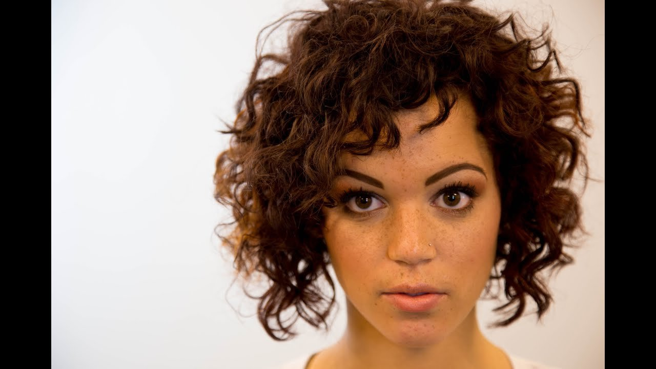 The Best A Line Bob Haircut On Curly Hair On The Road Education Pictures