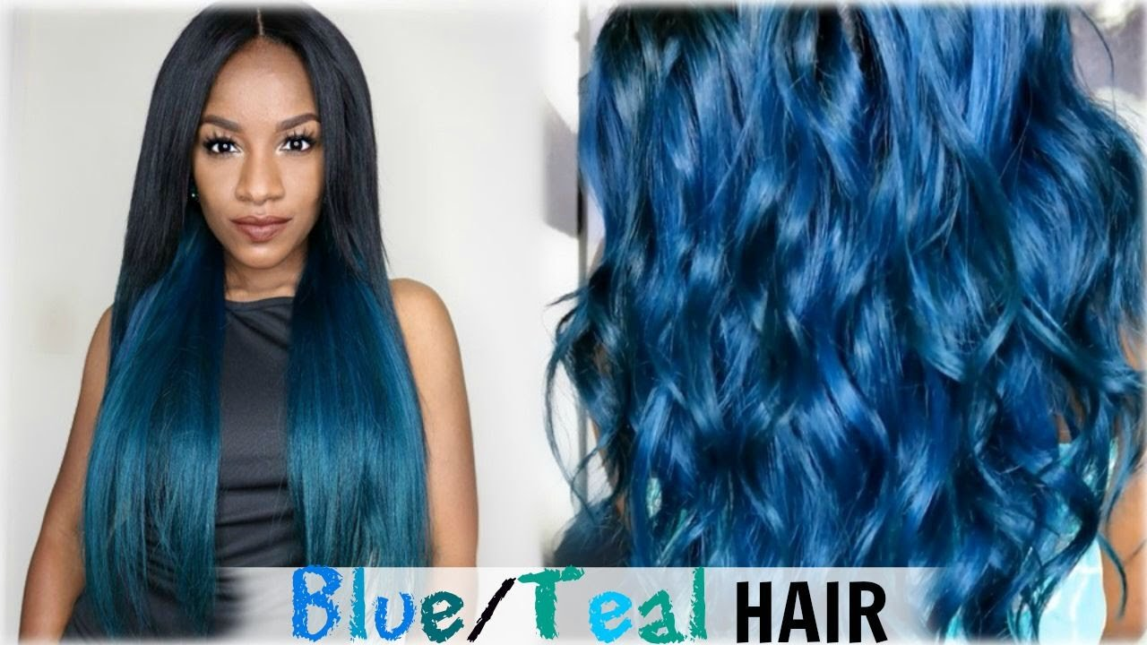 The Best How To Aqua Blue Teal Hair Color│Cexxy Hair Aliexpress Pictures