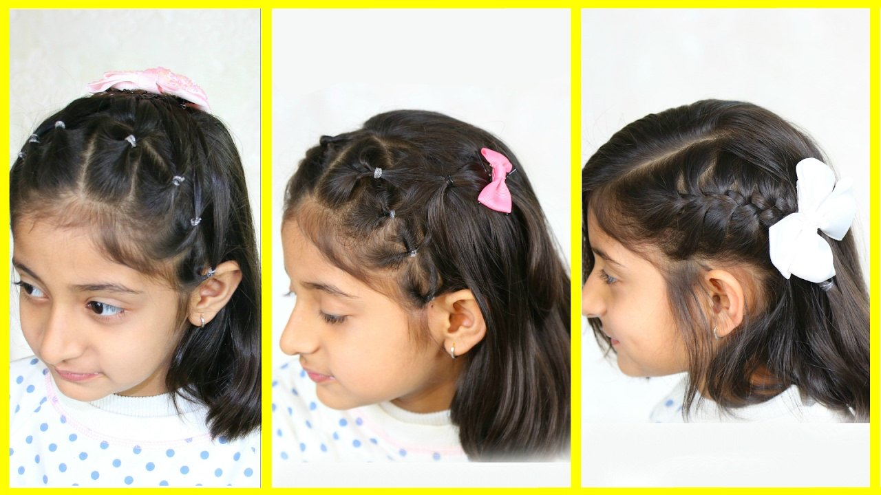 The Best 3 Simple Cute Hairstyles For Medium Hair Mymissanand Pictures