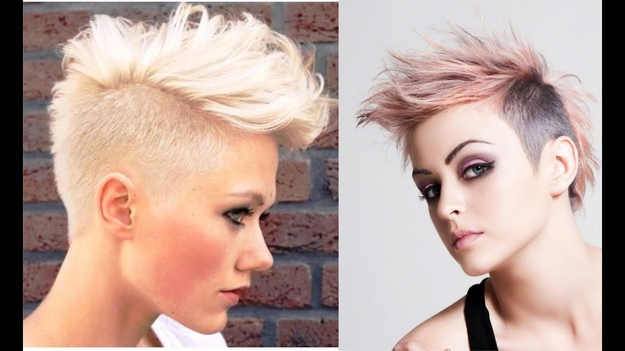 The Best Female Mohawk Hairstyle Youtube Pictures
