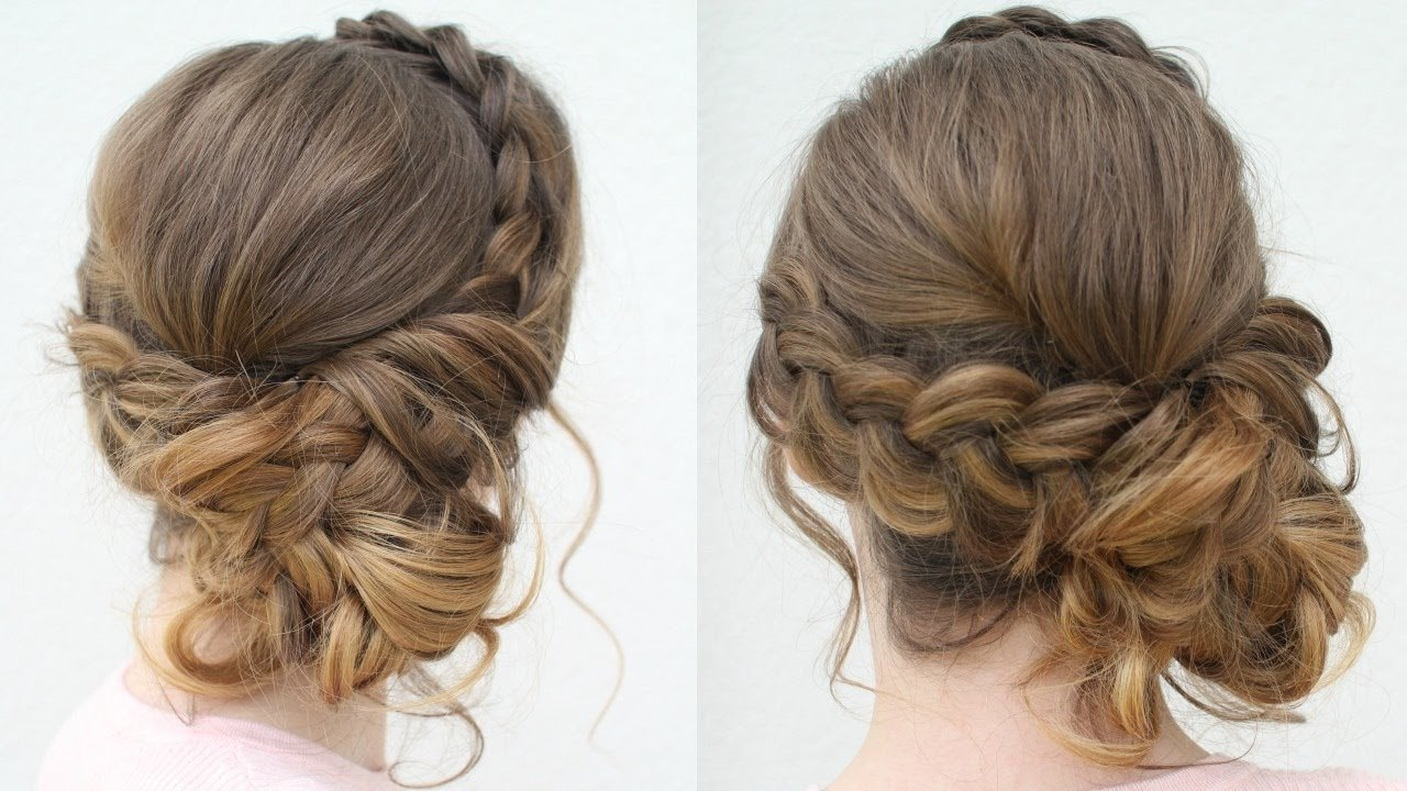 The Best Diy Prom Updo 2018 Prom Hairstyles Braidsandstyles12 Pictures