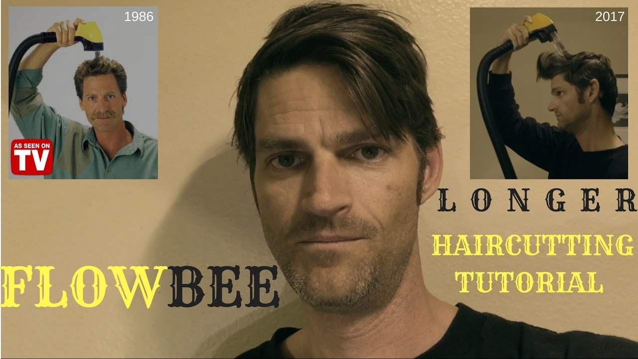 The Best Flowbee Mens Longer Haircut How I Cut My Hair 2017 Pictures