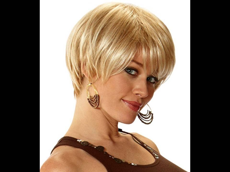 The Best Short Hairstyles For Round Faces And Thick Hair Youtube Pictures