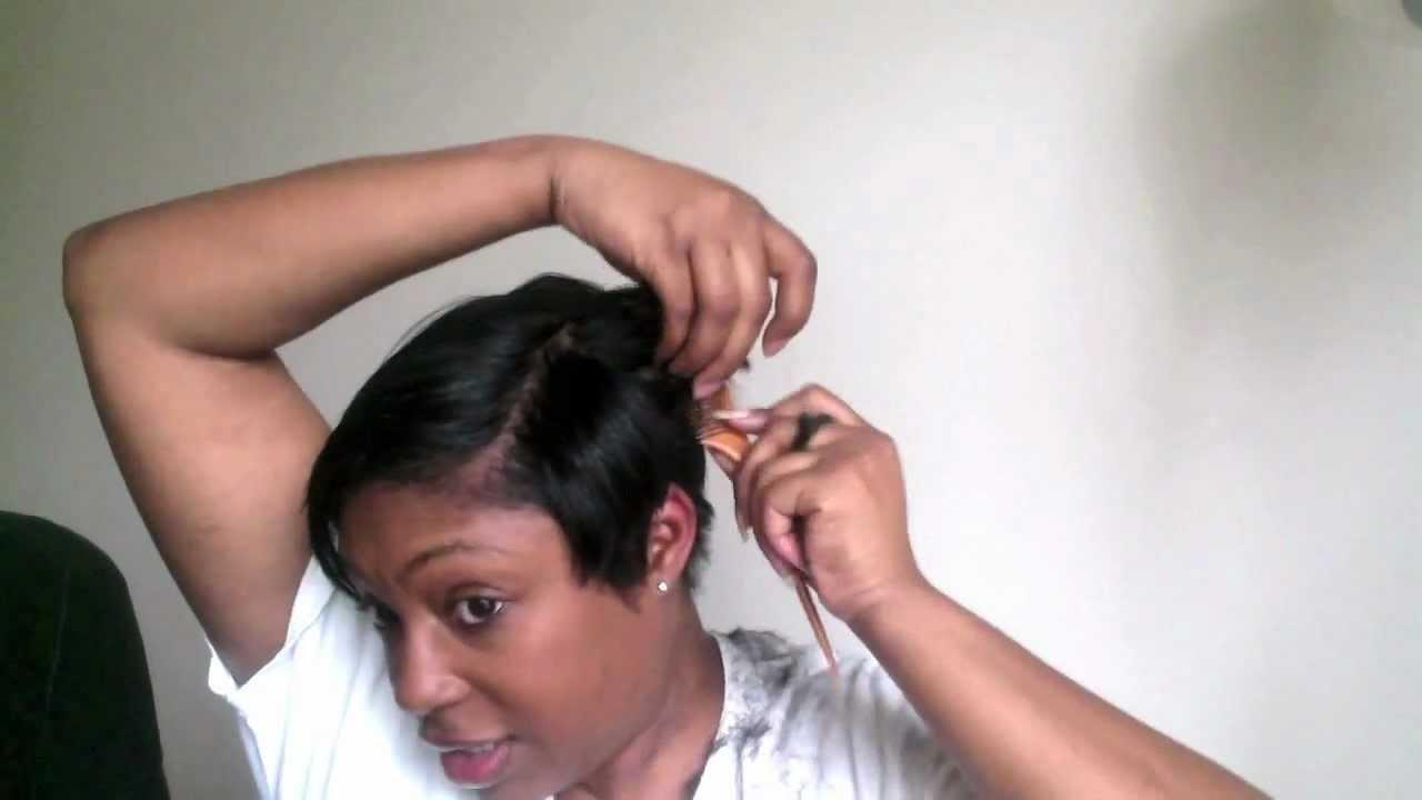 The Best Short Hair Cutting Tutorial How I Cut My Short Black Hair Pictures