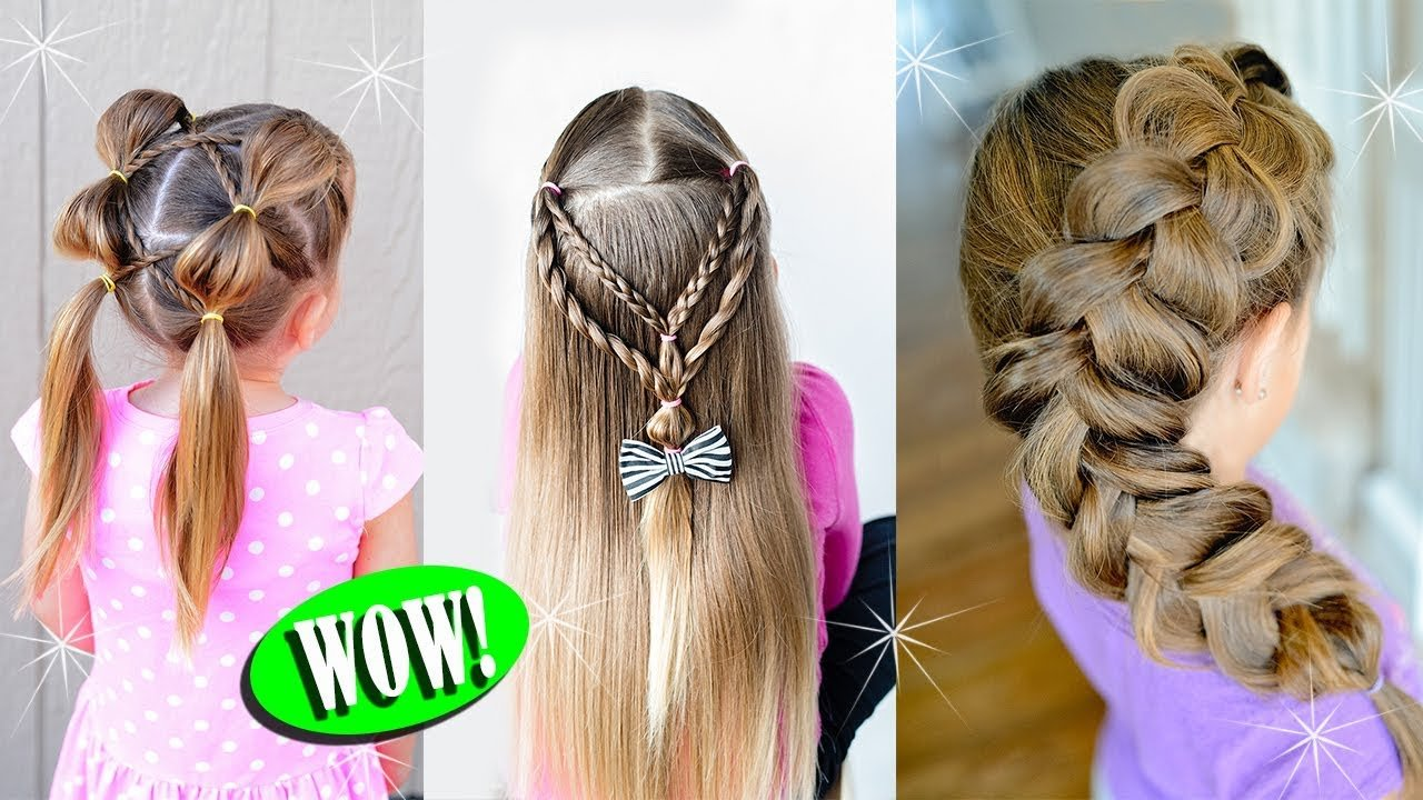 The Best 10 Cute Back To School Hairstyles For Little Girls Youtube Pictures