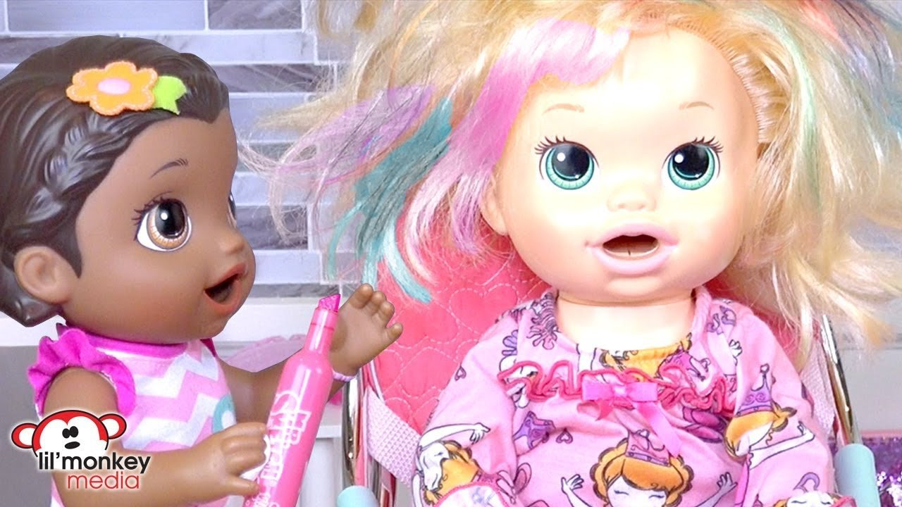 The Best Baby Alive Beauty Salon Haircuts Hair Color Spa Pictures