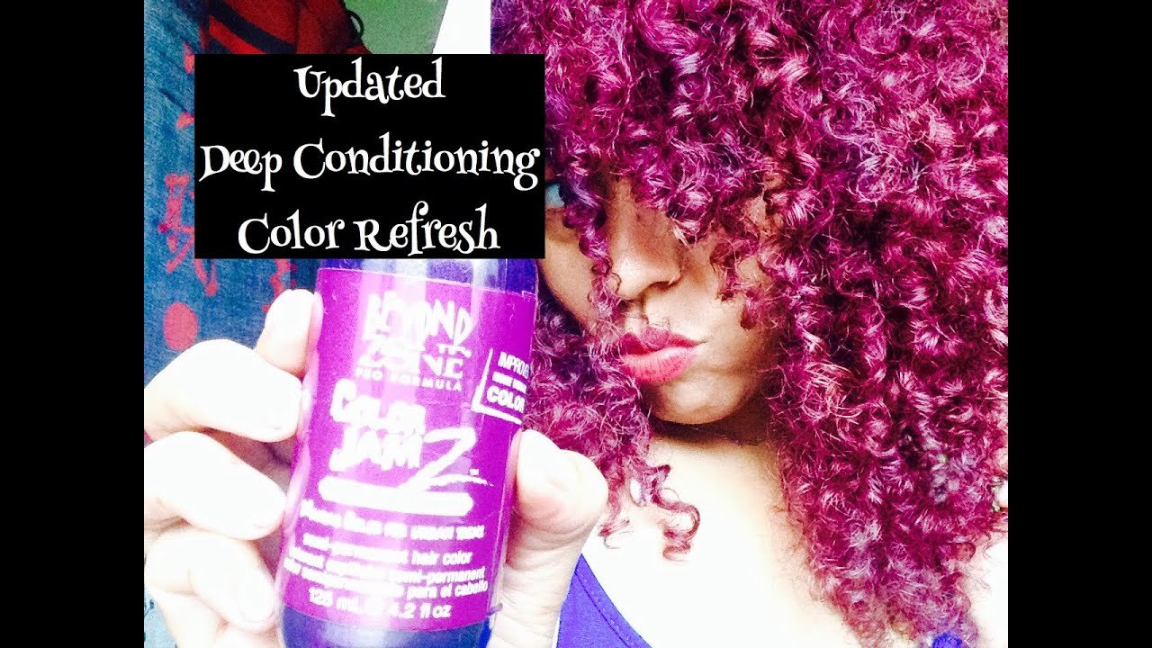 The Best Natural Hair Updated Deep Conditioning Color Method Youtube Pictures