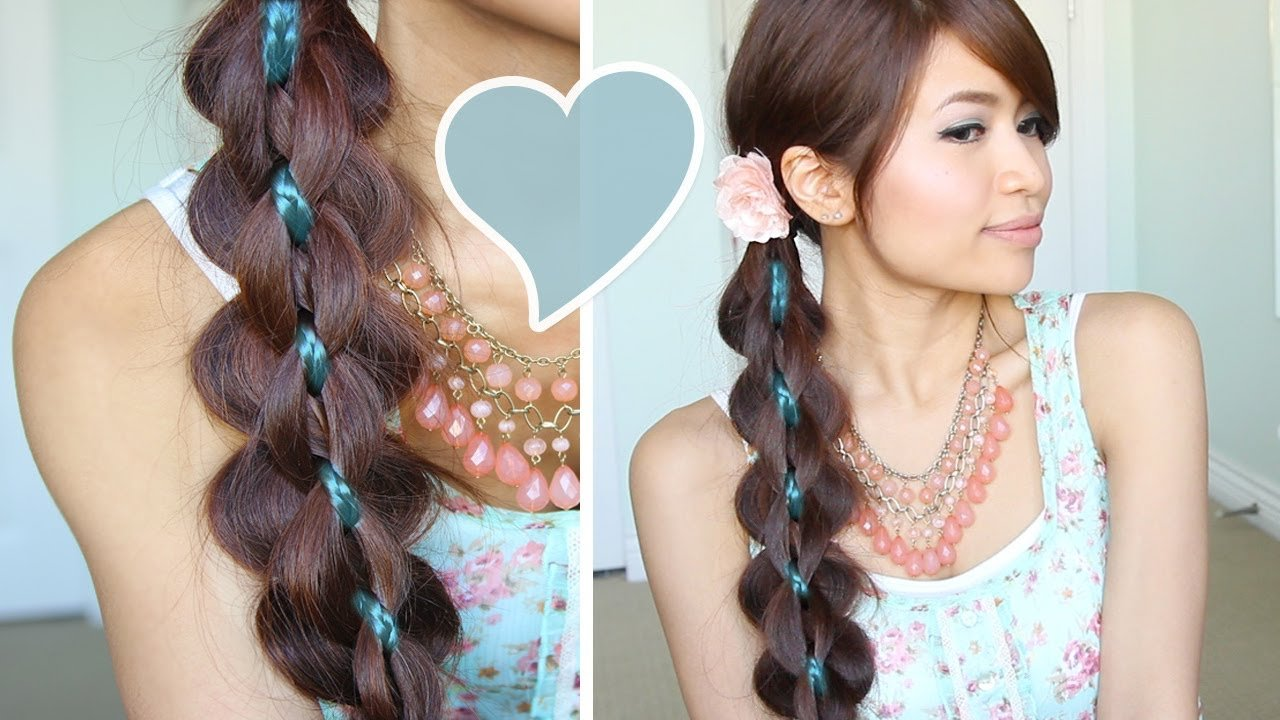 The Best Intricate 5 Strand Braid Hair Tutorial Hairstyle Bebexo Pictures