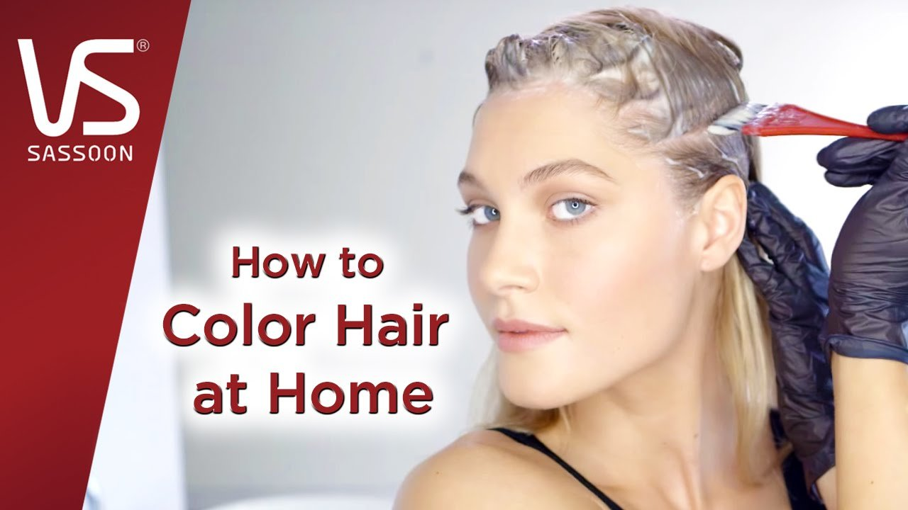 The Best Hair Dye Tips How To Color Your Hair At Home Vidal Pictures