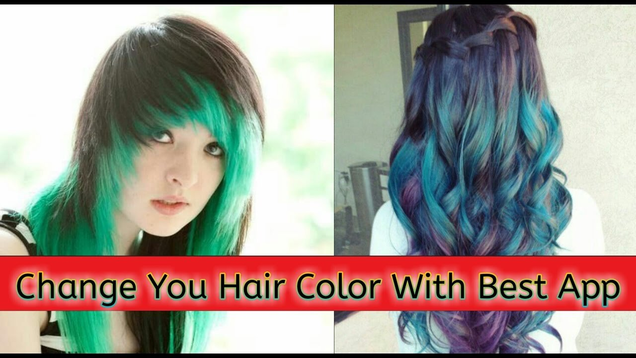The Best Hair Color Changer Best App How To Change Hair Color With Pictures