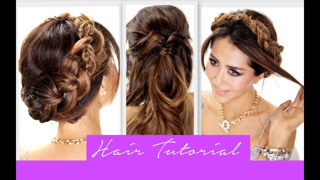 The Best 3 Amazingly Easy Back To School Hairstyles Cute Braids Pictures