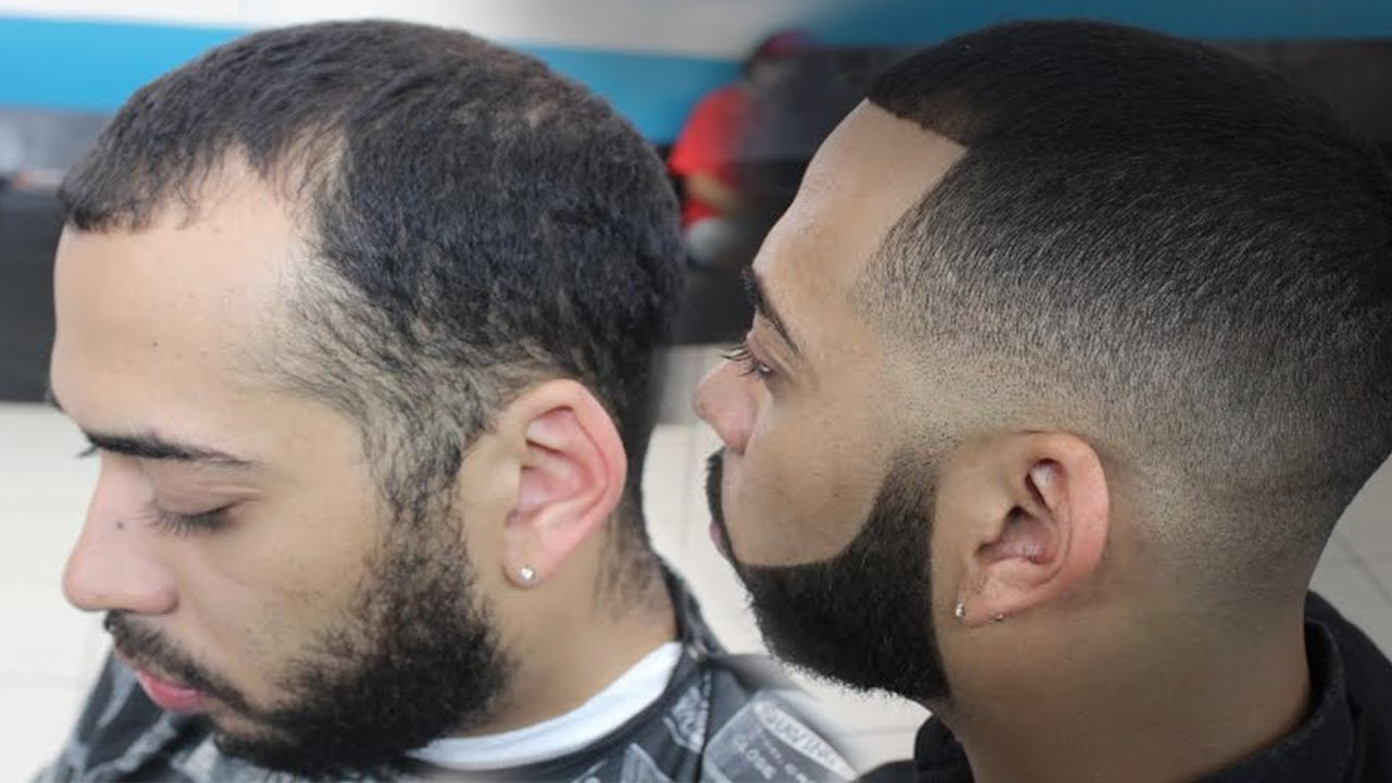 The Best Skin Fade Haircut With Bigen Dye By Will Perez Youtube Pictures