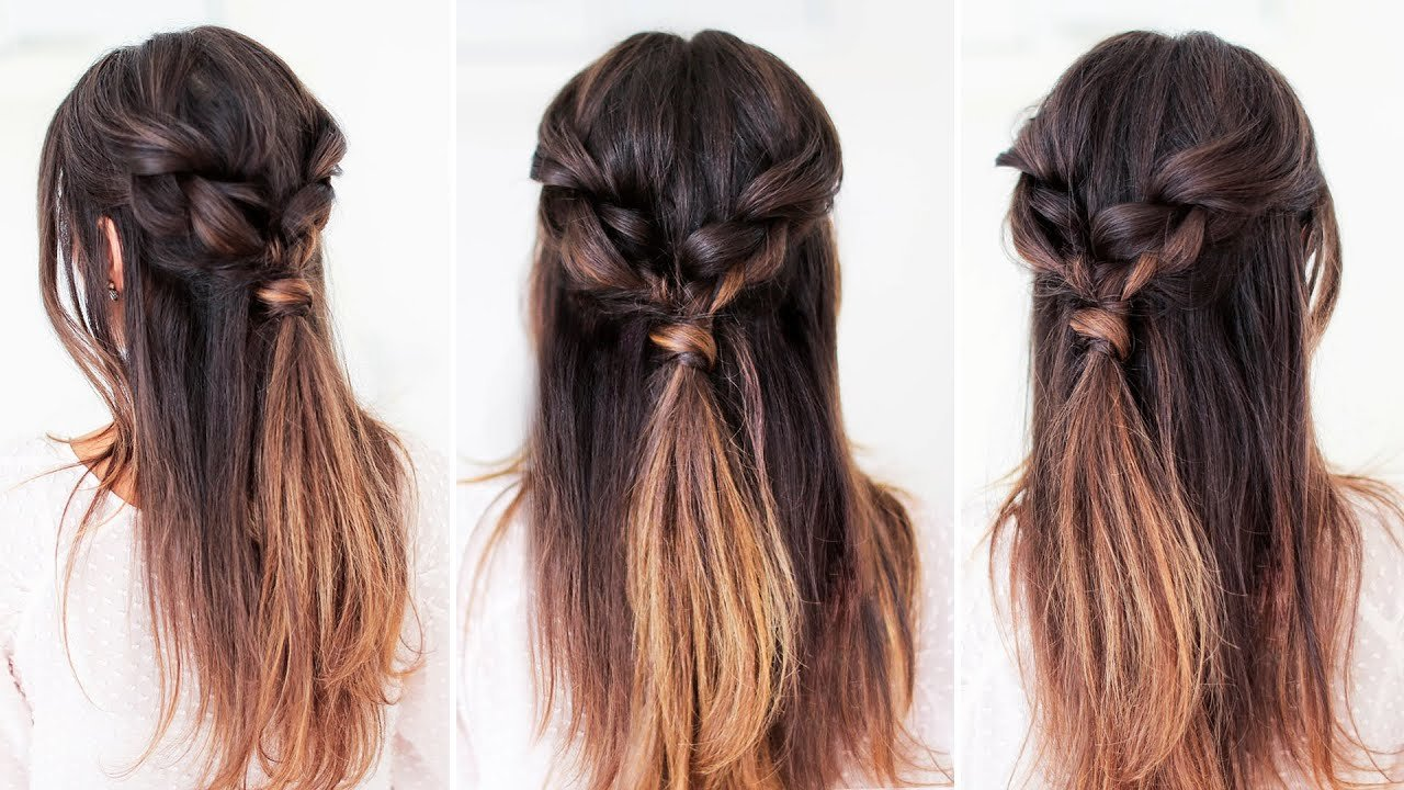 The Best Easy Everyday Hairstyle Luxy Hair Youtube Pictures