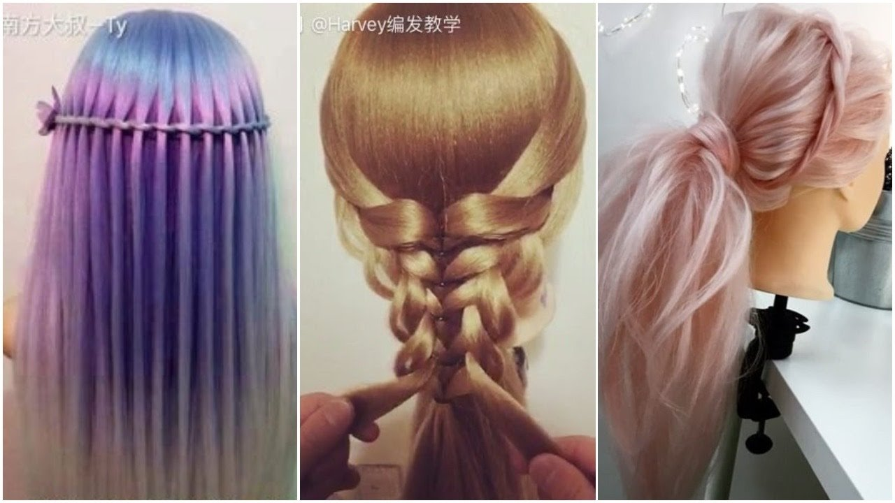 The Best The Most Beautiful Hairstyles Tutorials January 2017 Youtube Pictures