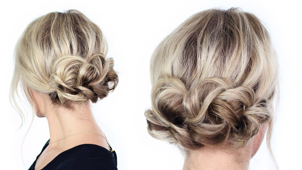 The Best Simple Holiday Updo Youtube Pictures