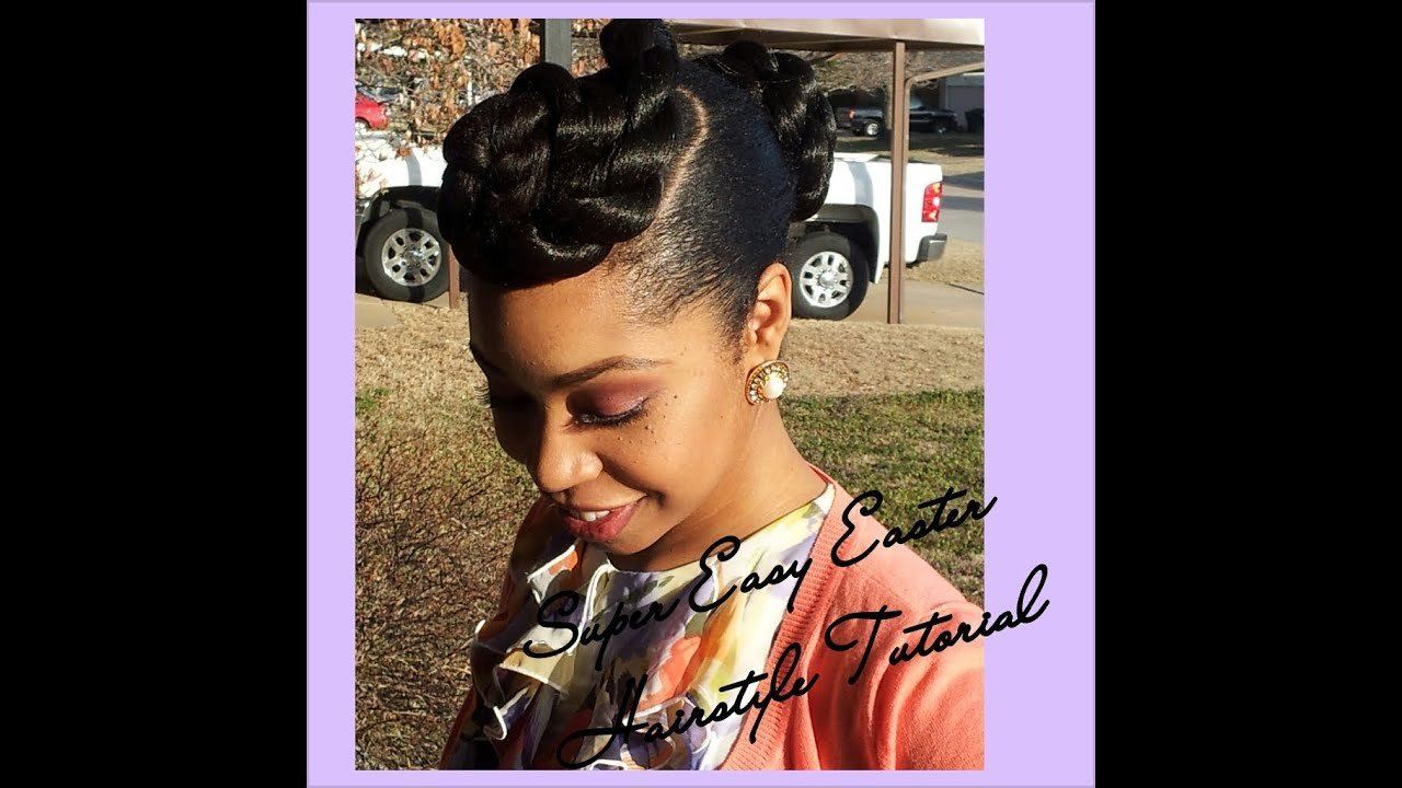 The Best Super Easy Easter Hairstyle Tutorial Natural Hair Pictures